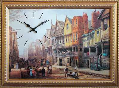 МОСКВИН Часы- картины